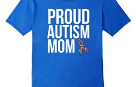 Proud Autism Mom t-shirt