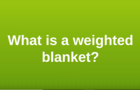 What is a weighted blanket