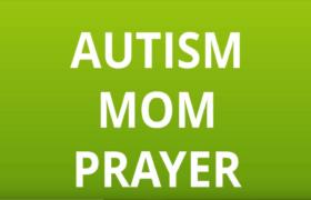 Autism Mom Prayer